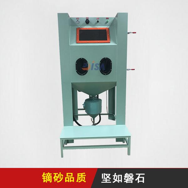 手动喷砂机DS-1010D箱式连体高压机